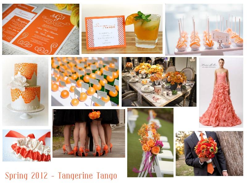 Spring 2012 – Pantone Tangerine Tango