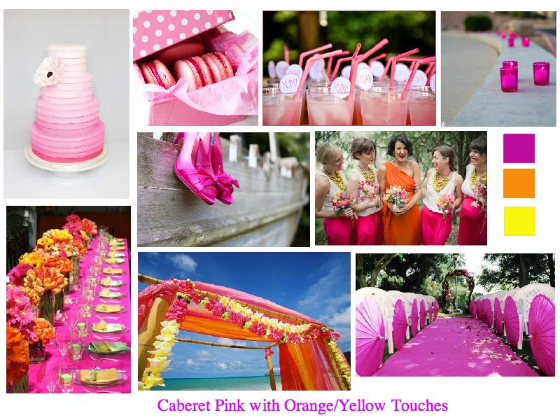 Pantone Caberet Pink Inspiration