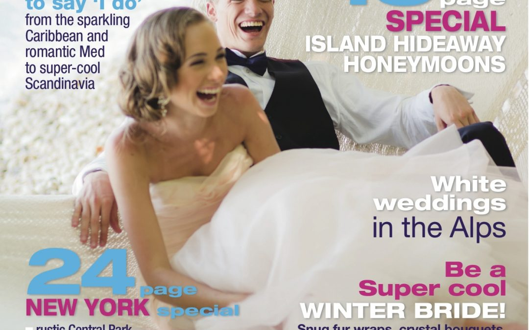 Caribbean Beach Alternative Photoshoot makes Brides Abroad Cover