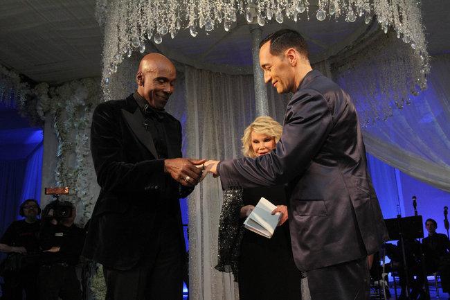 Preston Bailey exchanges vows