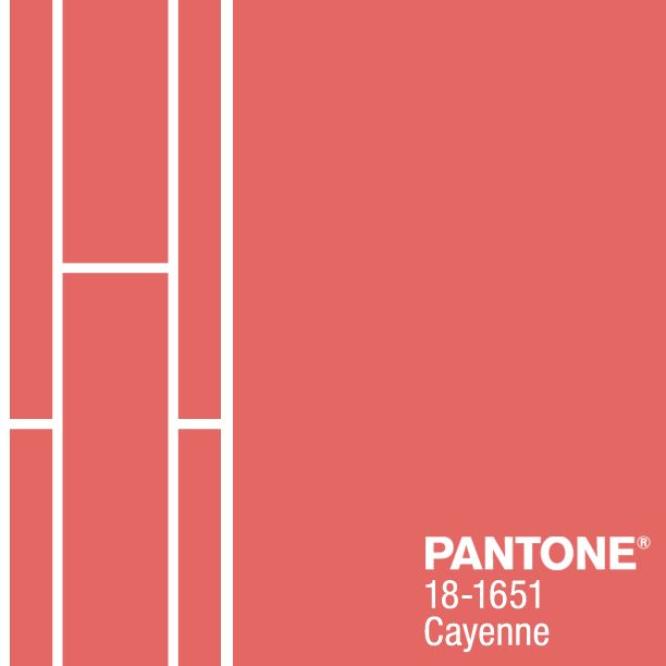 How to rock Pantone's Cayenne