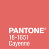 Wedding Colours: How to rock Pantone's Cayenne