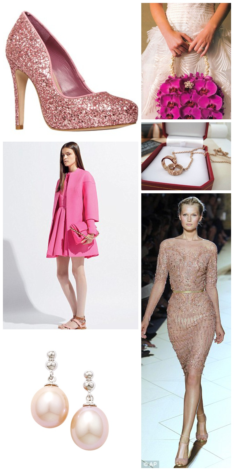 Wedding Inspiration: How to wear Pink_0026