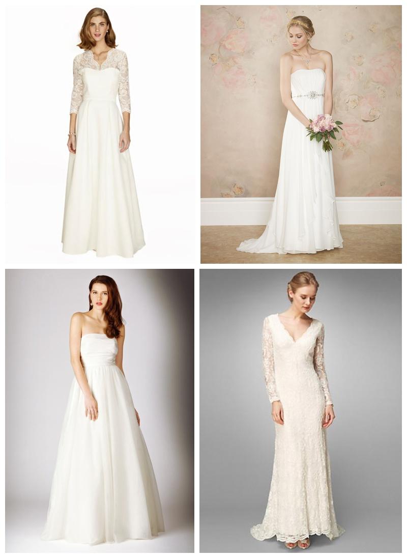 Wedding News High St Wedding Dresses