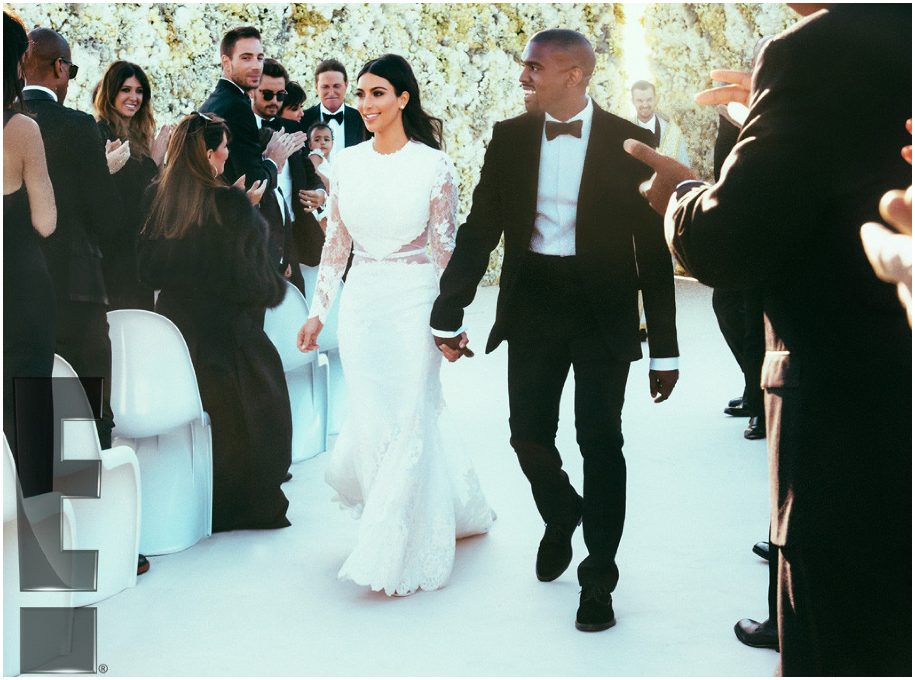 Wedding News: Kim Kardashian's wedding dresses