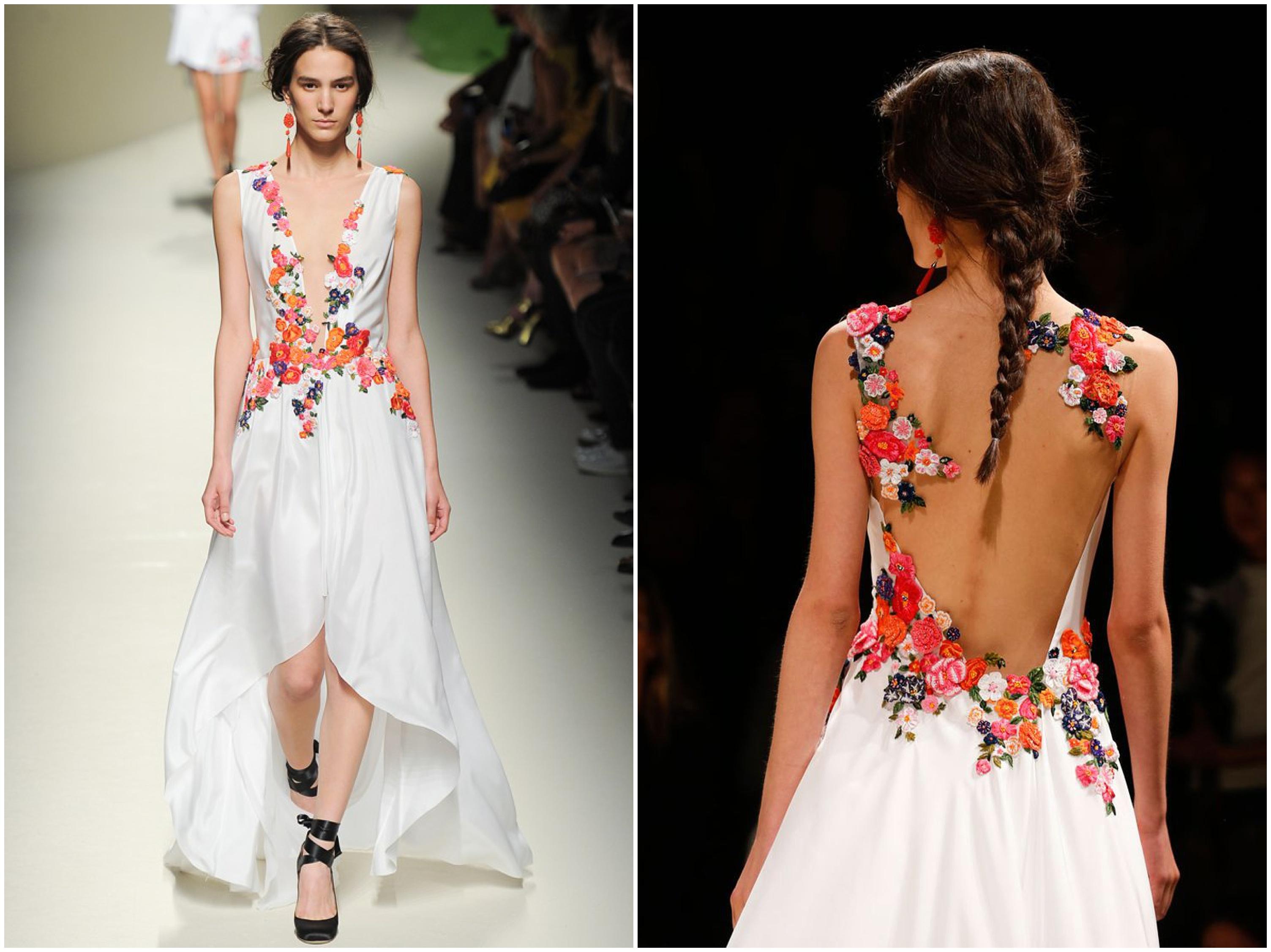 Wedding Inspiration: floral dresses