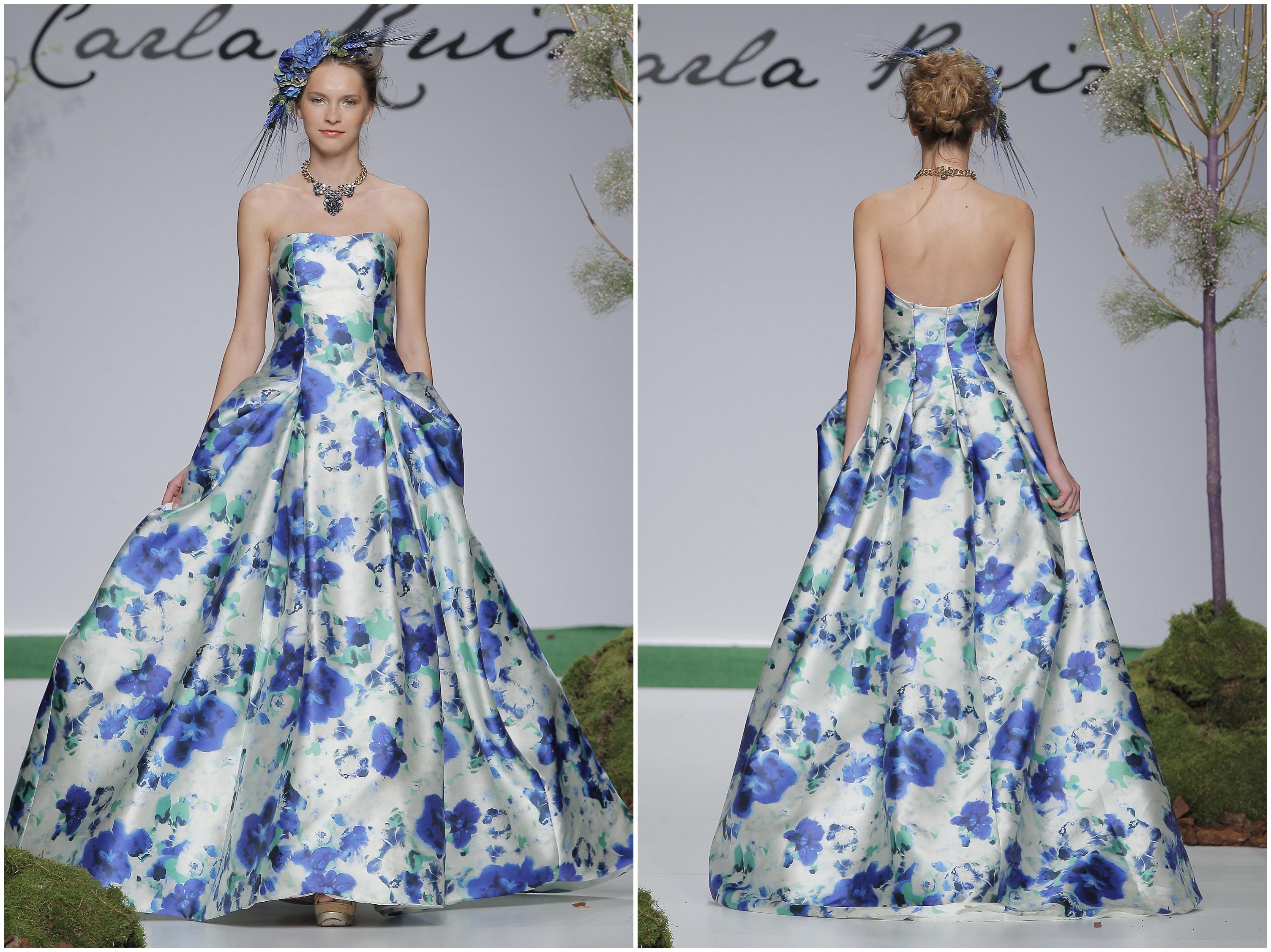 Wedding Inspiration: floral dresses 2014