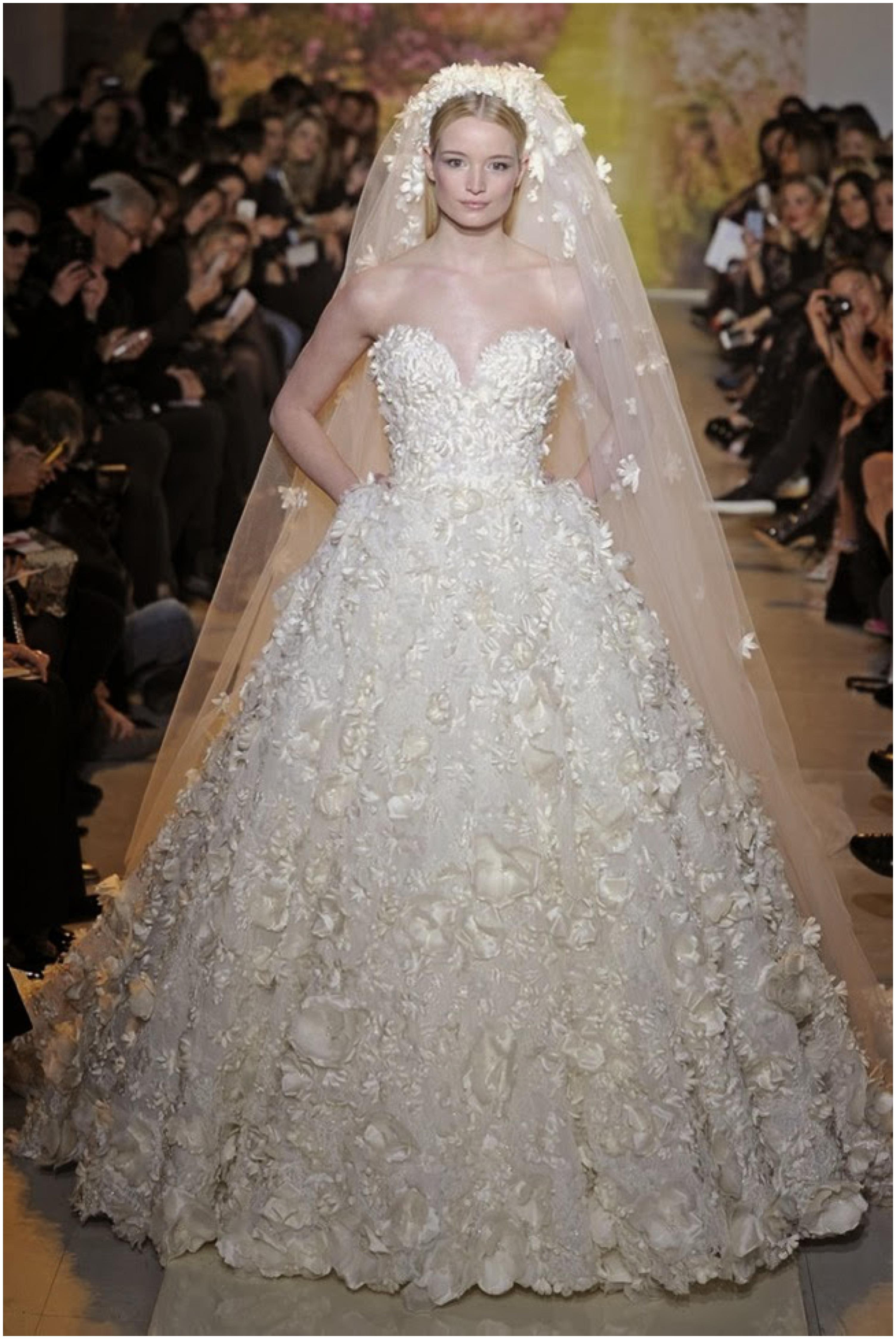 Wedding Inspiration: floral dresses_0095