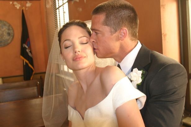 Wedding Inspiration: Brad & Angelina tie the knot