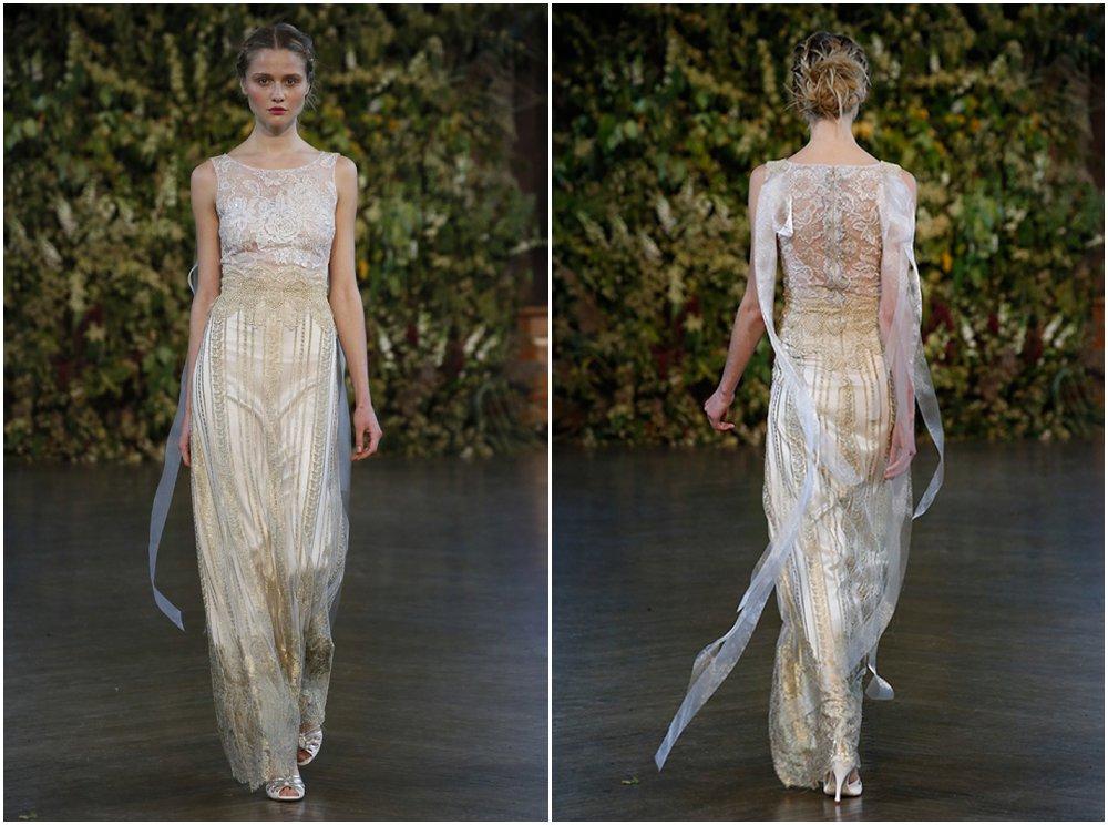 Bridal: Gorgeous backs from Bridal Fashion Week Fall 2015