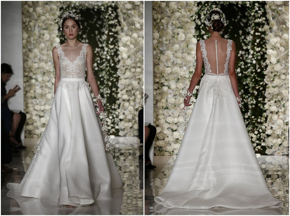 Bridal: Gorgeous backs from Bridal Fashion Week Fall 2015 Collections