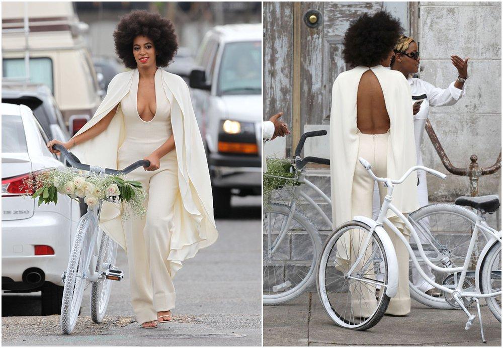 Bridal Trend: Solange Knowles Wedding Dress