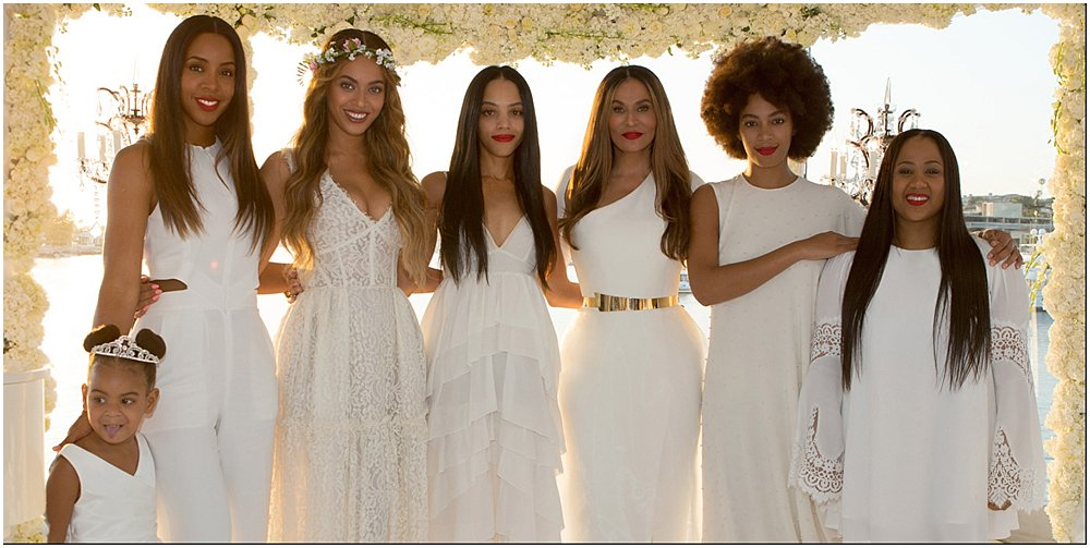 Tina Knowles Wedding: All White Wedding Trend