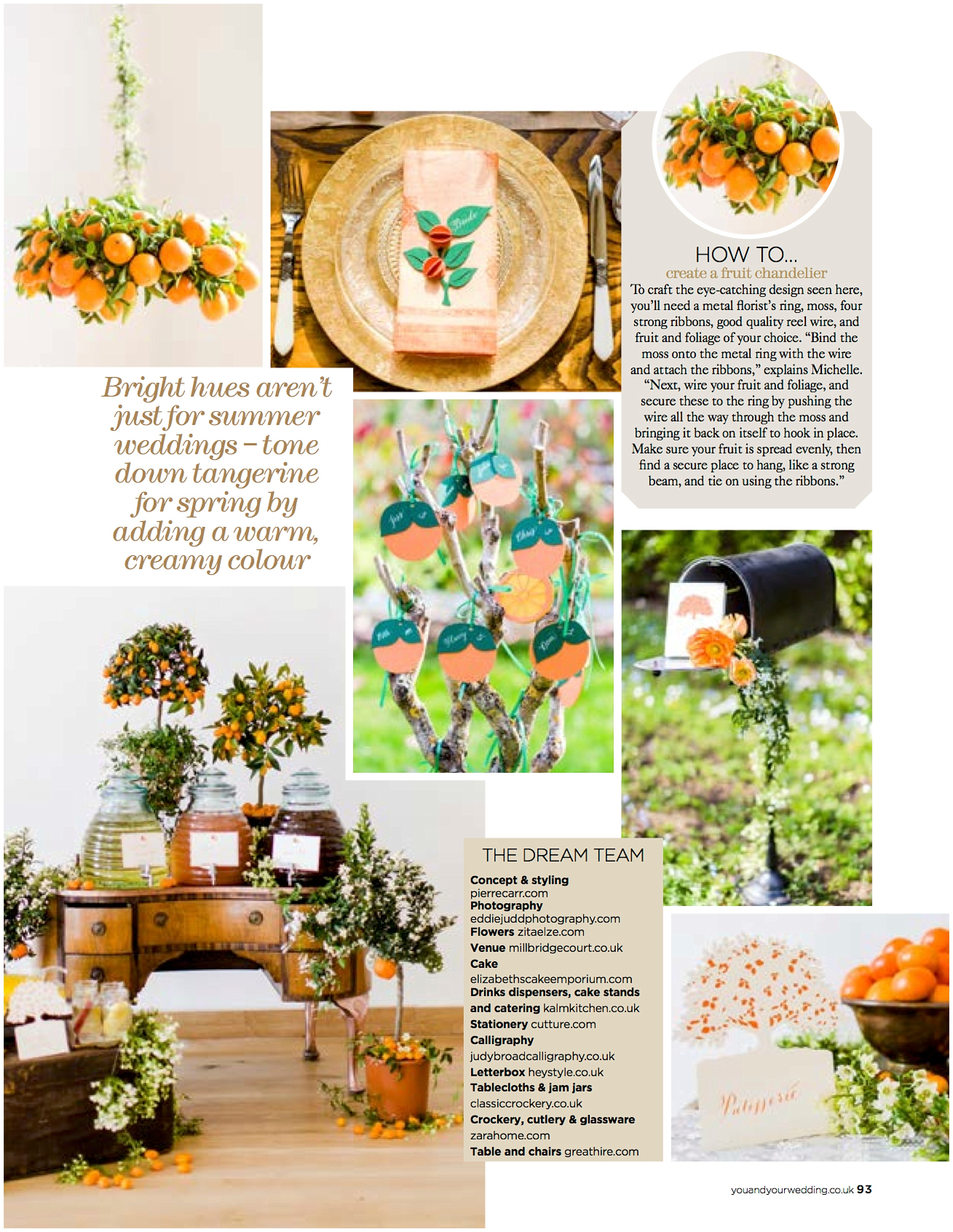 Published/Press: Featured in You and Your Wedding Magazine