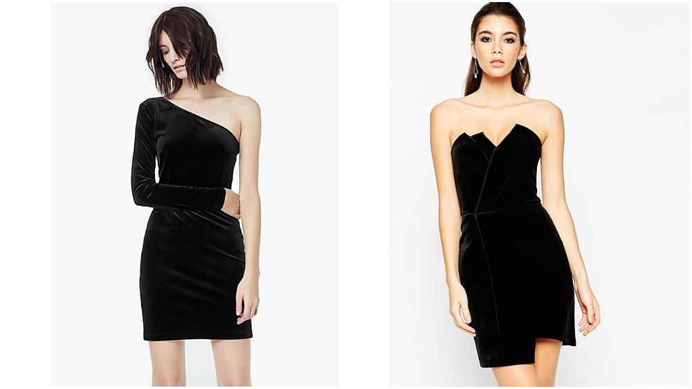 Little Black Velvet Dress - Christmas 2015