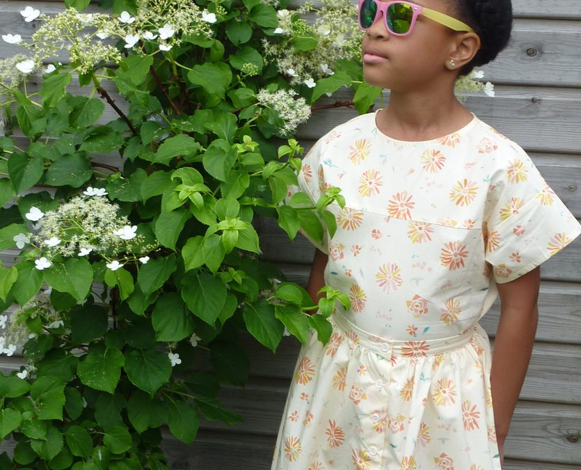 BACK TO NATURE: FLORAL KIDS FASHION SS18