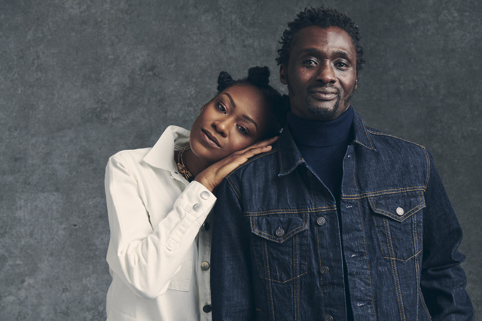 Styled by Pierre Carr dresses British Olympian Francis Agyepong and his daughter Cassie for the In my Genes shoot with photographer Paul Thorburn