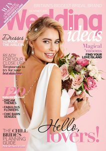 The Valentines cover of Wedding Ideas styled by Pierre Carr
