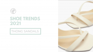 Fashion stylist @styledbypierrecarr gives her shoe trends from 2021