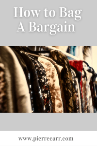 Fashion stylist @styledbypierrecarr gives you tips on why to second hand shop