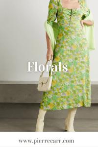 Fashion stylist @styledbypierrecarr shows you five summer print trends