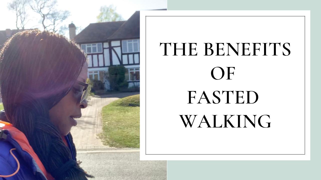 Fashion stylist @styledbypierrecarr talks you through the benefits of walking