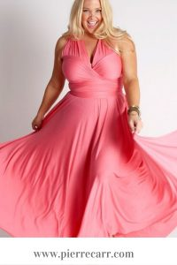 Fashion stylist @styledbypierrecarr gives you tips on wearing a maxi dress